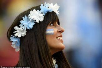 高清图-阿根廷比利时球迷特辑
