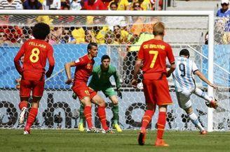 高清图-[1/4决赛]阿根廷1-0比利时