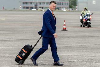 高清图-荷兰队回国受欢迎