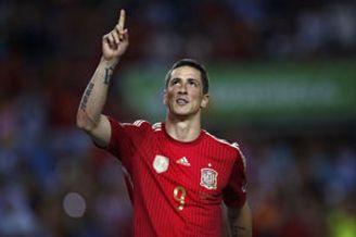 热身赛-托雷斯点射伊涅斯塔进球 西班牙2-0告捷