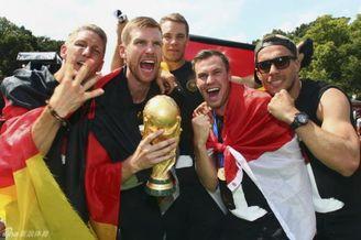 德国队这次玩大了! 世界杯冠军奖杯被他们摔坏了