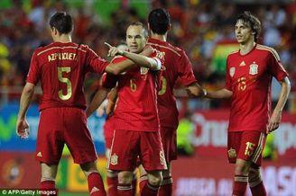 伊涅斯塔:西班牙能卫冕世界杯 英格兰一直是夺冠候选