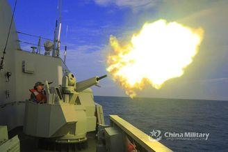 海军某护卫舰支队实战化训练
