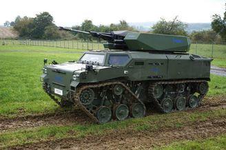 德国新一代空降战车外形独特