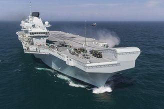 英航母停日本遭当地媒体质疑