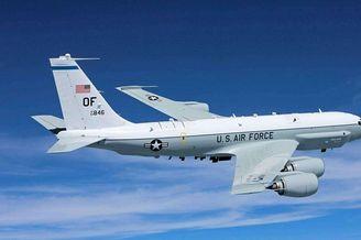 美军导弹监视机长江口外海作业