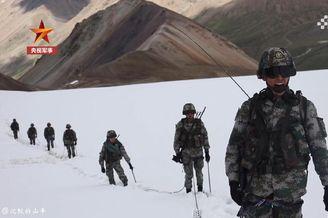解放军雪域高原极限训练