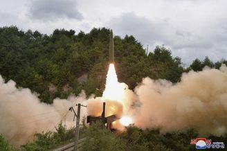 朝鲜试射铁路机动弹道导弹