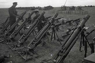 苏军清理诺门罕战役战利品