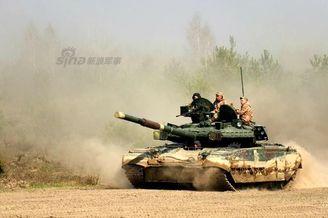 乌克兰T84欲到欧洲一雪前耻