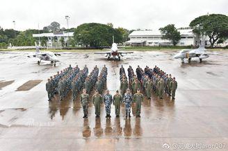 中泰空军联训结束举行闭幕式