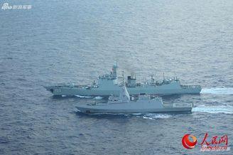 052C與埃及護衛艦聯合演練