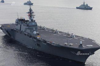 在南海搞鬼!日本准航母停越南