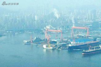 国产航母将助中国成第二海军!