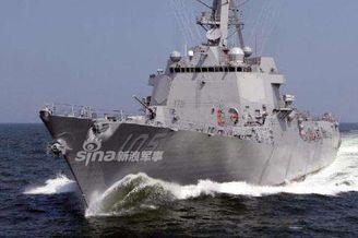 美军舰24日进我岛礁12海里!