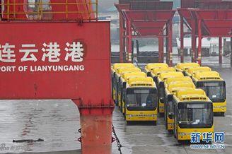 缅甸进口一千辆中国公交车!
