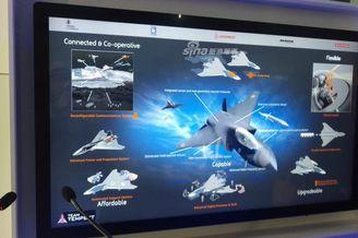 英国隆重推出自研六代机模型