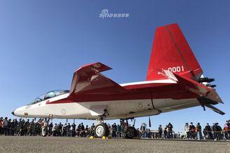 日本空自大方展示心神战斗机