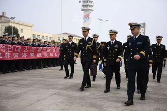 萨德事件后韩军舰首次访问中国