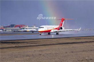 又一架国产ARJ21飞机首次试飞