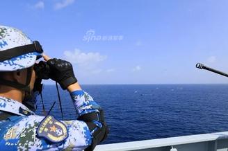 昆仑山舰确保护航对象绝对安全