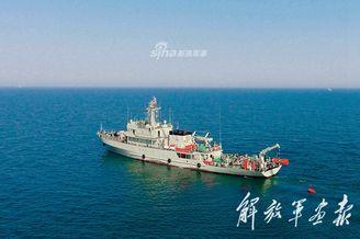 北海舰队扫雷舰大队实训掠影