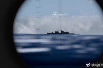 日本海自短片惊现攻击我054A舰