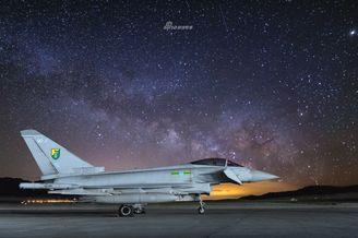 英国皇家空军台风战机高清写真