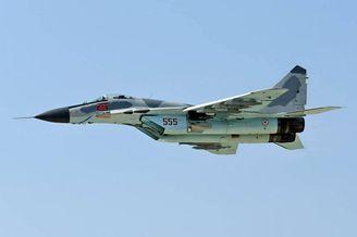 朝鲜人民军空军555号米格-29