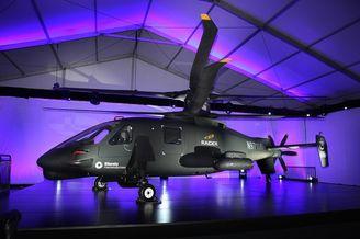 S-97袭击者高速直升验证机座舱