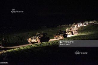 土耳其重兵集结进军叙利亚
