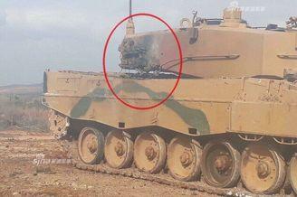 土耳其豹2坦克反被库尔德暴打