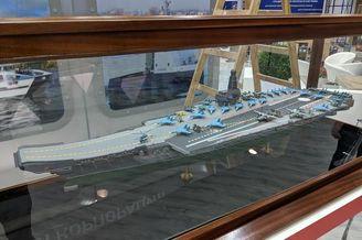 俄罗斯曝光最新版航母设计模型