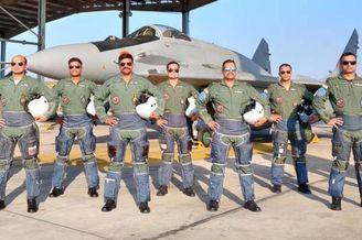 印空军4架米格29抵阿曼联演