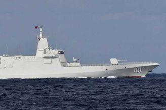中俄舰艇同时通过津轻海峡