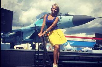 莫斯科航展上的大白腿终于来了