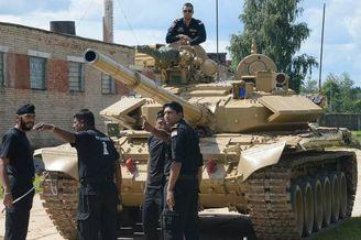 解放军96B坦克将PK印度T-90S