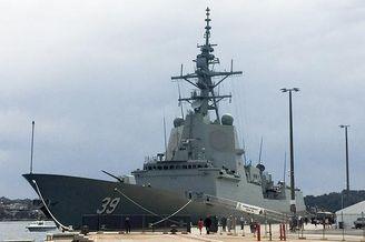 南半球首艘神盾舰澳大利亚服役