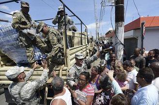 美军1万6千人救援美署维京群岛
