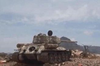 苏联T34坦克现身也门战事一线