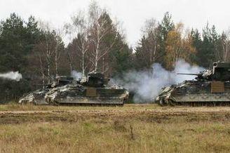 美第一骑兵师将派驻东欧威慑俄