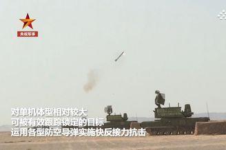 解放军演练对抗无人机蜂群