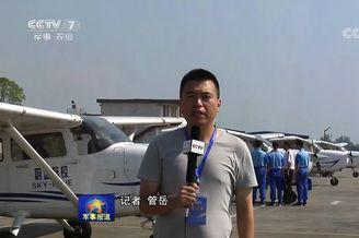 我海军航空实验班少年学开飞机