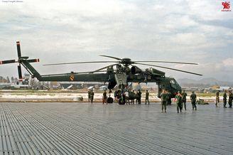 美军CH54直升机设计造型奇葩