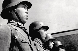 武汉会战时的中国军队在抗日