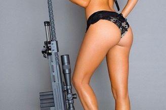 战斗民族日常31:美女和枪结合