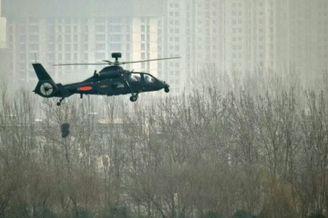 中国带毫米波雷达武直19服役!