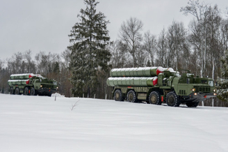 啥时交中国!俄装备5团S400