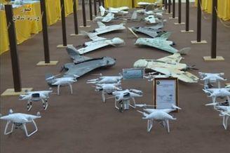 伊拉克展出缴获国产某无人机