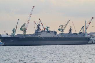 贼心不死!日本的加贺号准航母